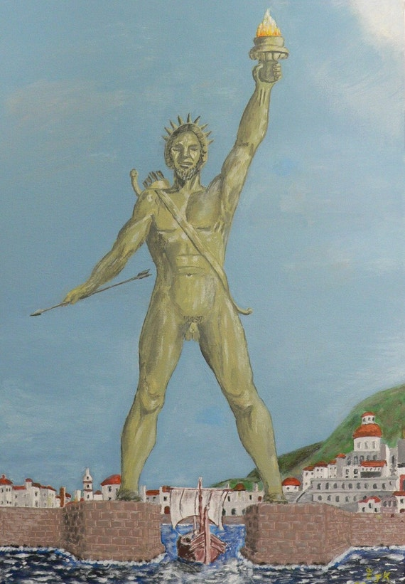 Colossus of Rhodes - Eric Kempson