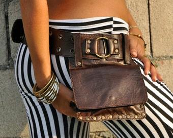 Genuine Leather Hip Bag from Ellko- KIPPY