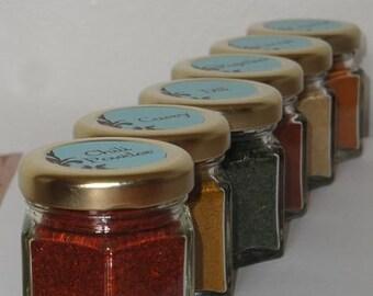 Magnetic Spice Jars Etsy