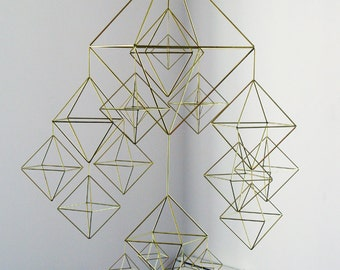 beautiful HIMMELI - brass mobile