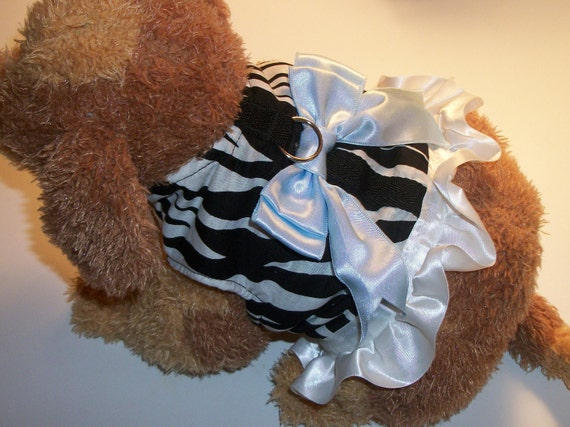 Zebra Print Walking Harness