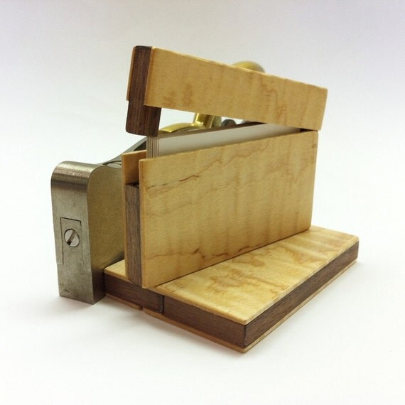 Curly Maple Card Case