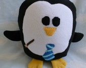 Plush Ravenclaw Penguin Pillow, Baby Safe, Machine Wash and Dry