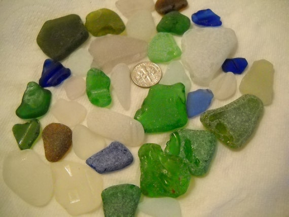Sea Glass From the Pacific Northwest Craft Or Project Glass