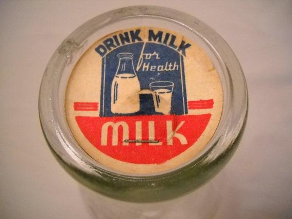 Vintage Dairy Land Milk Bottle