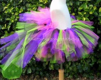 Bright Party Bustle Adult Teen Tutu