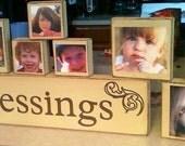 Blessings photo blocks