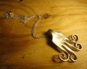 Fork Necklace- octopus design