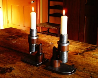 Carburetor candle holders
