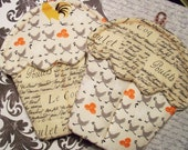 Handmade Cupcake Potholders with Chickens and Lovely Text
