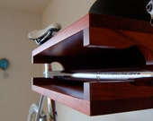 Bike Shelf - Padauk and Aluminum