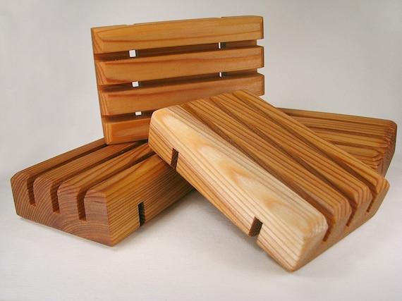 One Cedar Handcrafted Soap Saver / Soap Deck