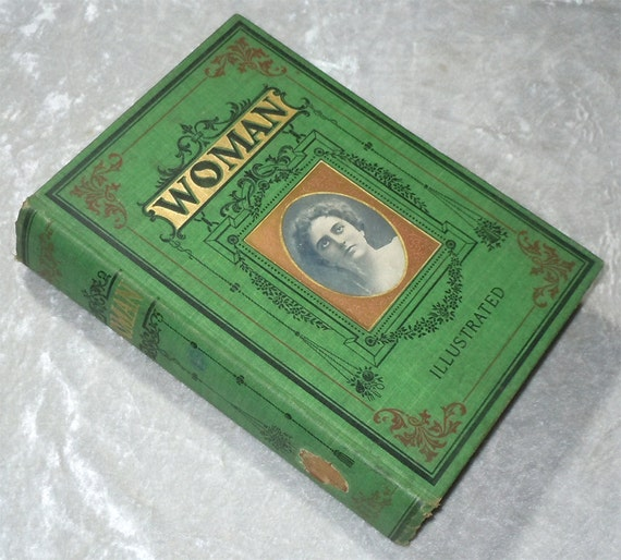 1903 Woman - Biography, History, Garden of Eden to 20th Century - Vintage, Illustrated