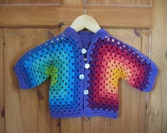 Rainbow Baby Jacket (9-12 months)