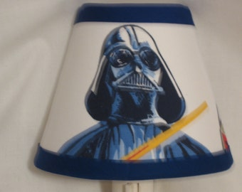 Star Wars Darth Vader Fabric Night Light M2M Pottery Barn Kids