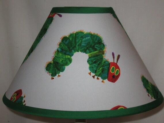 Very Hungry Caterpillar Fabric Lamp Shade