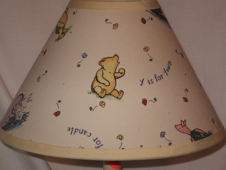 Winnie The Pooh Classic Ivory Lamp Shade By