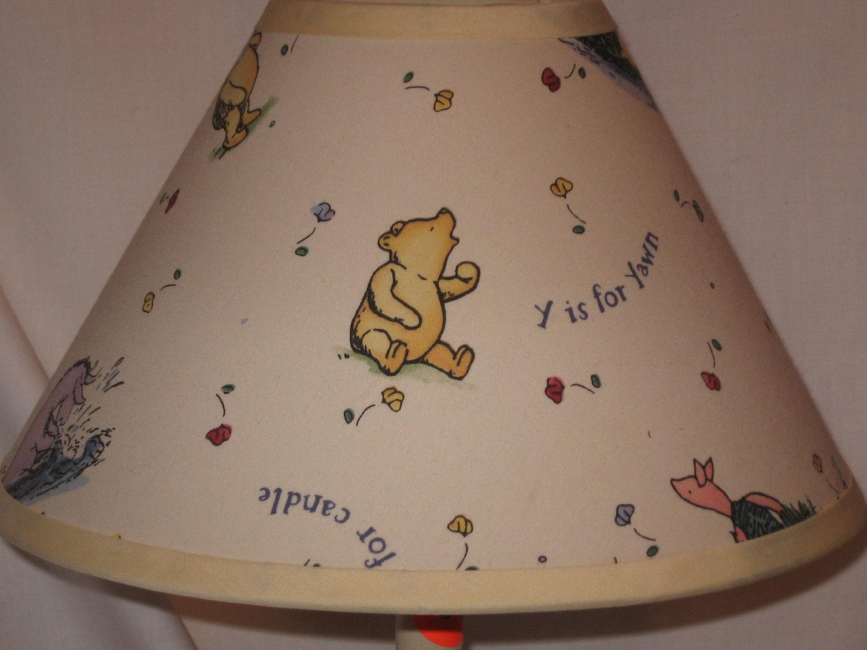 Winnie The Pooh Classic Ivory Lamp Shade