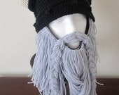 Crochet Viking Hat and Beard