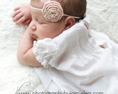 Pink Simplicity Headband for New Borns