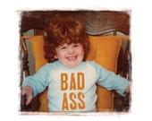 Bad Ass Ginger with black frame