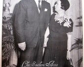 Clark Gable, Margaret Mitchell & Gone With The Wind Antique Original 1939 Life Magazine Page - Hollywood Glam