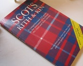 """Revised 1989 Book """"Scots Kith & Kin"""" Scottish Genealogy with illustrated Clan Map"""