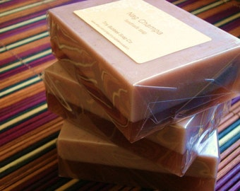 Nag Champa - Shea Butter Soap with Apricot Seeds