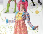 Clown Costume For Adults by Simplicity 2525