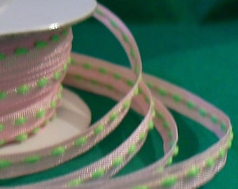 "Ribbon / Thin Ribbon / Spool of Ribbon / 1/8"" X 25 yards"