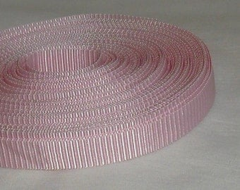 "Light Pink Grosgrain Ribbon...3/8"" X  12 yards"