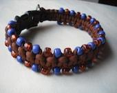 Handmade Dog Collar, Boy Dog Collar