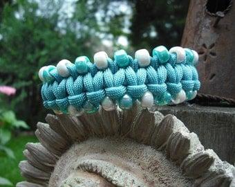 Sky Blue Dog Collar, light blue small dog collar