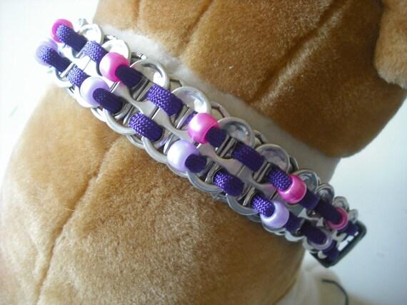 Custom Beaded Dog Collar, Unique Custom Dog Necklaces