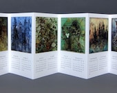 2012 IN FORESTS Art Calendar by Andie Thrams