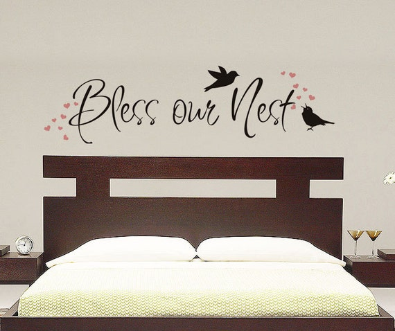 Bless Our Nest Wall Decal Vinyl Decal By VillageVinePress On Etsy