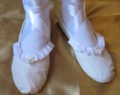 Original Design White Leather Regency Shoes