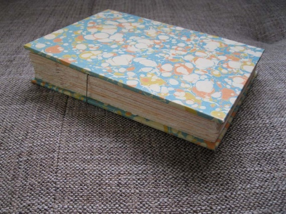 Italian Marbled Hand Bound Photo Album