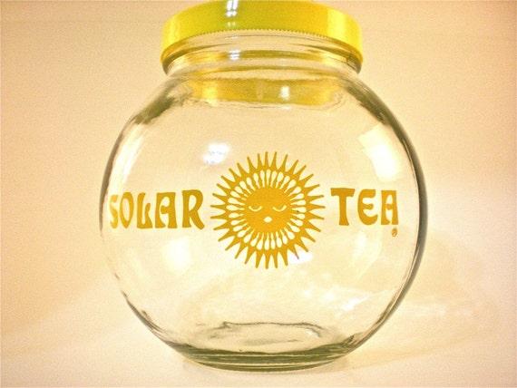 Retro Glass Jar Solar Tea Maker