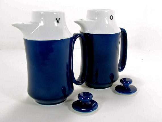 Mysterious Oil and Vinegar Decanters