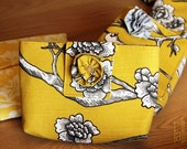 RESERVED LISTING Bird Patterned Bridal Clutches