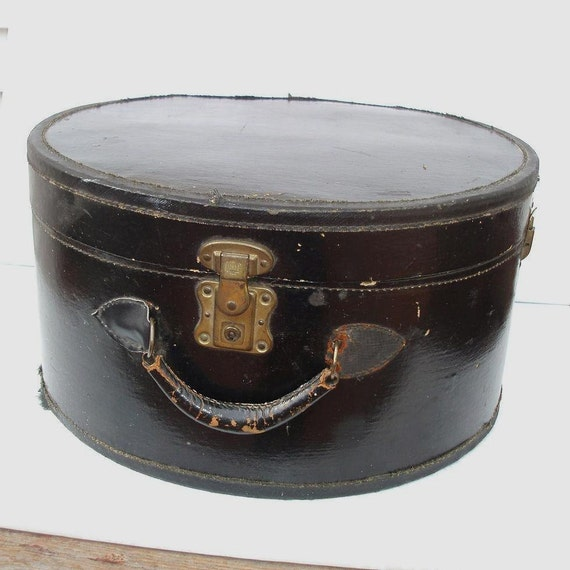 Travel Hat Box Hat Box Luggage Vintage Hat Box Luggage