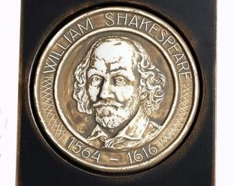 Katemi Plaque - Famous People Series -W.Shakespeare