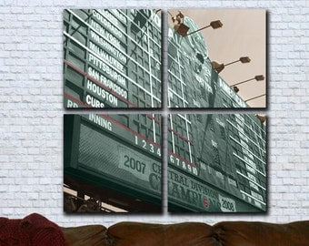 Chicago Cubs Hey Hey Canvas Art Wrigley Field Print