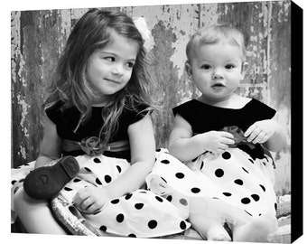 Custom Canvas - Your Photo on Canvas - Personalized Canvas Art, Color or B&W. Photos to Canvas.