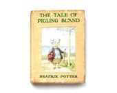 The Tale of Pigling Bland - Vintage Book by Beatrix Potter