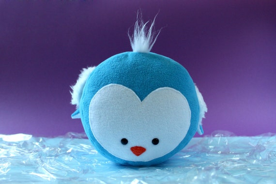PINGO - adorable blue penguin - large size