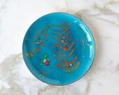 Edward Winter enamel plate