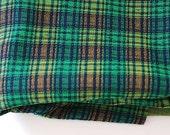 Vintage Acrylic Knit Fabric, Vintage Retro Fabric Prints, Retro Prints, Tartan Plaid  Fabric, Valentines Day Custom Fabric, Mid Century