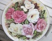 Vintage Connoisseur Fine Bone China England - Rose Bouquet, Dearest, Iceberg, Pink Parfait - VintagebyKanina